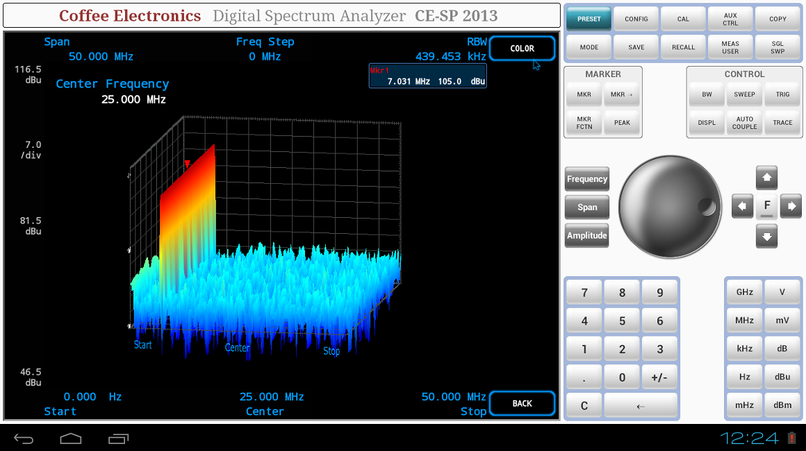 Spectrum Analyzer 3D