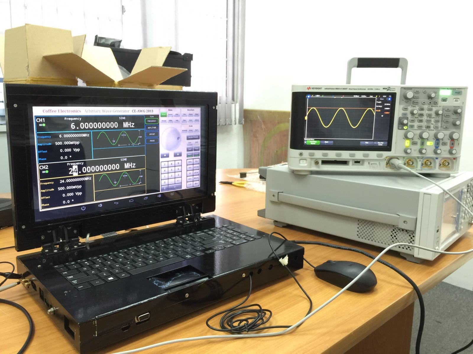 eLABin1 prototype debugging
